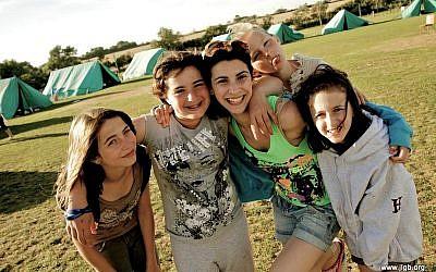 All smiles at JLGB's summer camp
