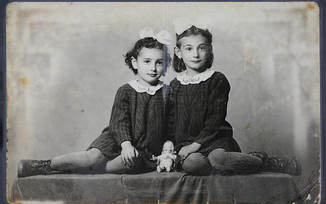 Sisters Suzan-Zsuzsa (left) and Lili Klein. Courtesy of Yad Vashem Photo Archives