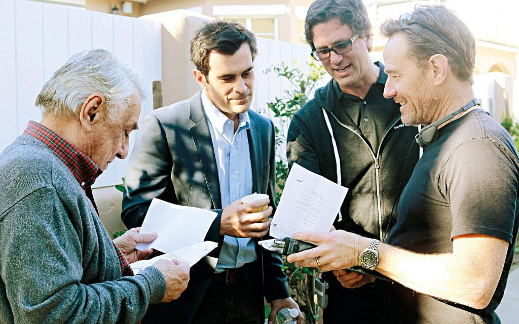 Steve and Ty Burrell (Phil) script checking for 'The Election Day' episode