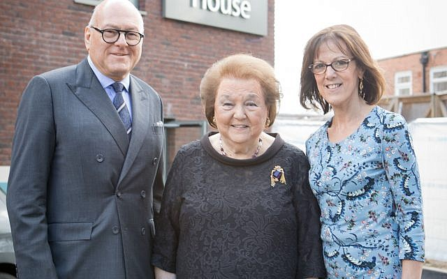 Sir Lloyd Dorfman CBE, Anita Dorfman and her daughter Marilyn Berk   Credit: Grainge Photography