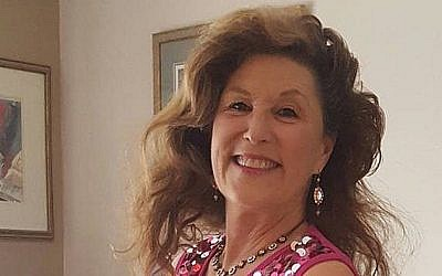 Lori Gilbert-Kaye, who was killed in a shooting at a San Diego County synagogue on April 27, 2019 (Facebook via Times of Israel)