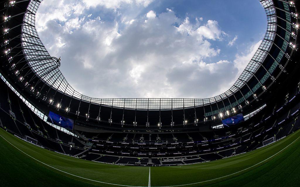 General view of Tottenham Hotspur Stadium, (Photo credit Steven Paston/PA Wire.)