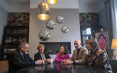 (left to right) Dr Martin Stern, Susan Pollack, Lily Ebert, Maurice Blik and Dame Penelope Wilton at the launch for Holocaust Memorial Day 2020 in London, marking the 75th anniversary of the liberation of Auschwitz. Photo credit: Victoria Jones/PA Wire