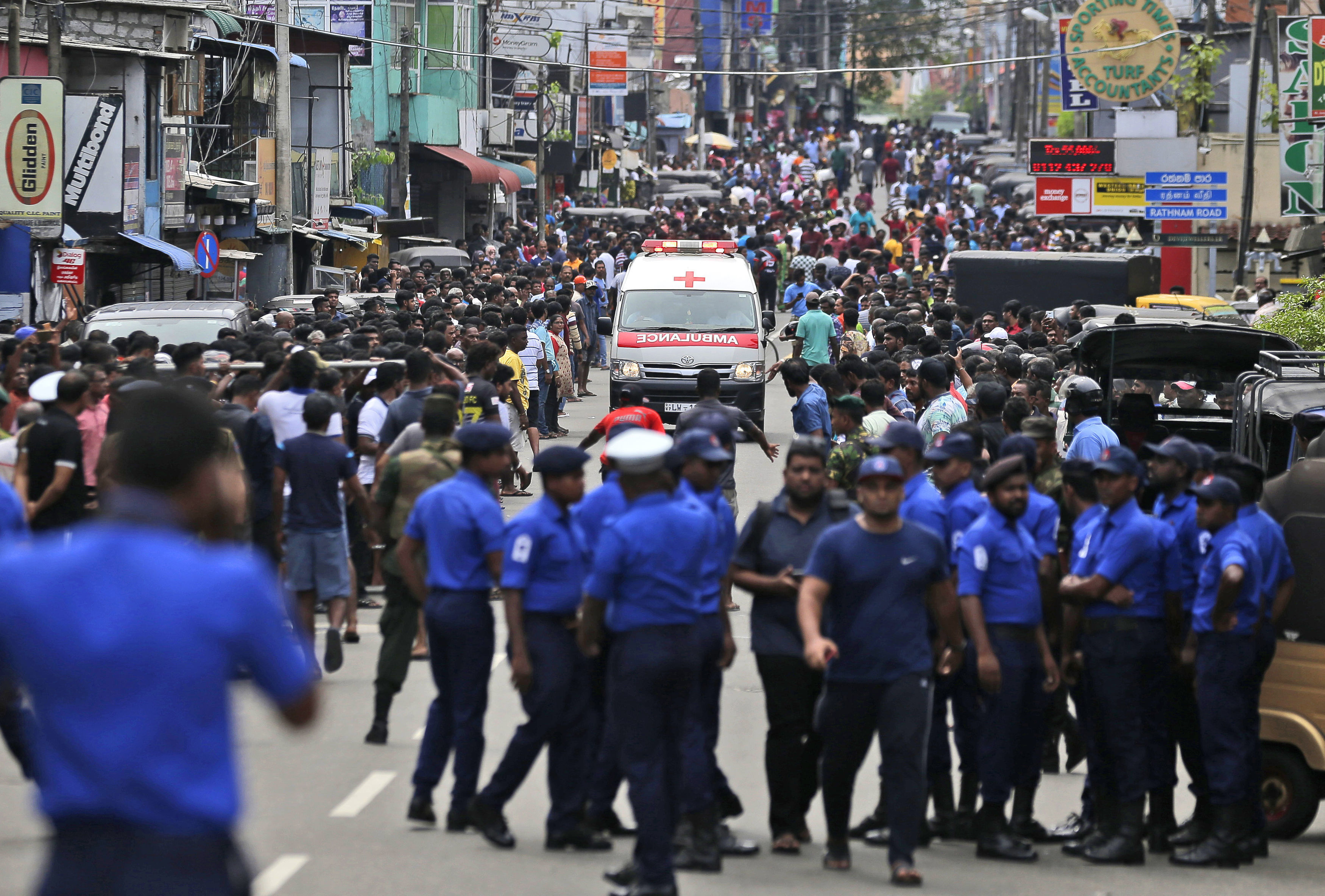 Sri Lanka Explosions Target Churches and Hotels, Killing At Least 129