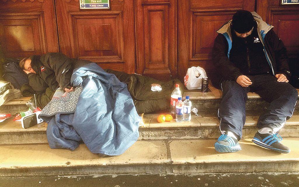Homeless people (Allan Warren/Wikipedia)