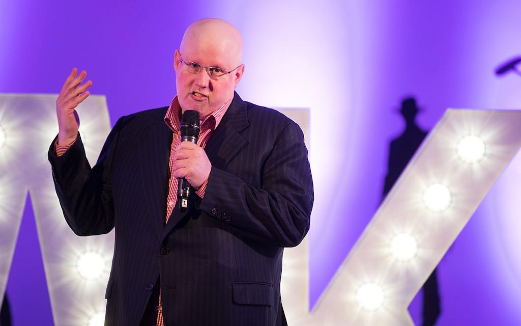 Matt Lucas at Jokes for Jake at Elstree Studios.  (Credit: Blake Ezra Photography Ltd)