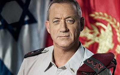 Former Chief of Staff, Lt. Gen. Benny Gantz Autho (Credit: Wikipedia/Israel Defense Forces)