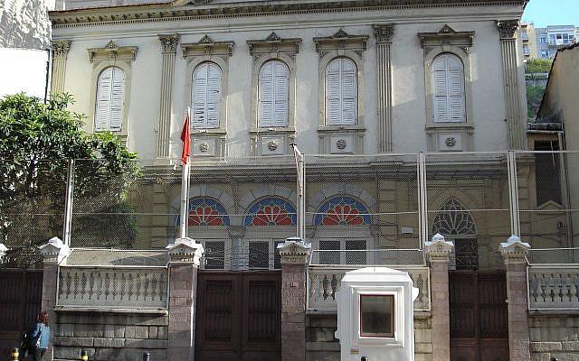 Bet Israel Synagogue is located in Karataş, İzmir. (Yabancı/Wikipedia)