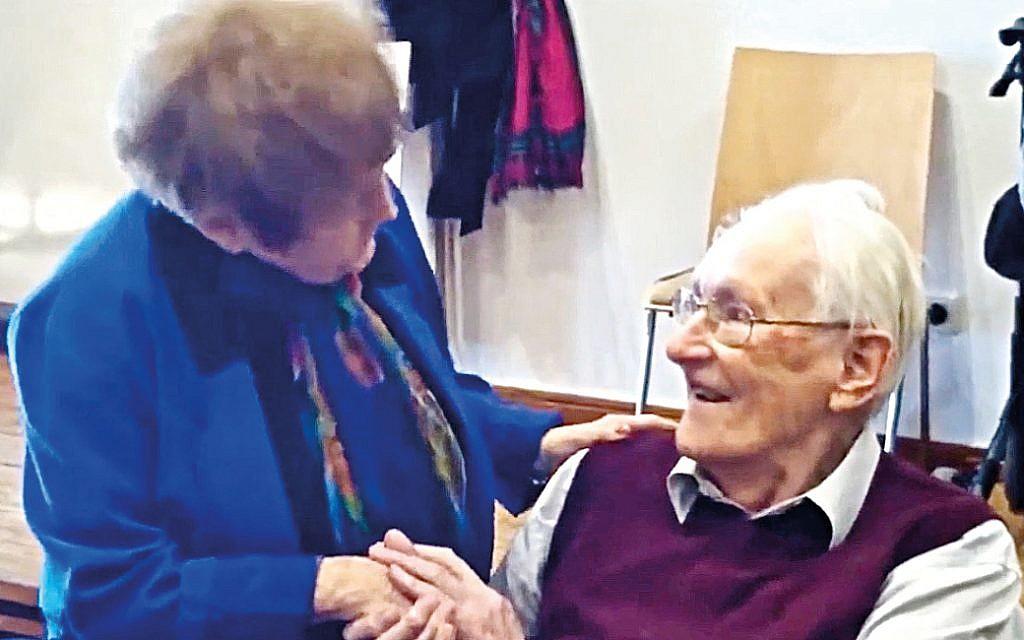 Eva Kor and Oskar Gröning