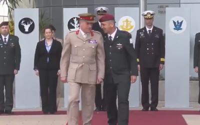 The Chief of the General Staff Gen. Sir Nick Carter, met with IDF Chief of the General Staff, Lt. Gen. Aviv Kohavi, to mark the beginning of his visit in Israel this week.
