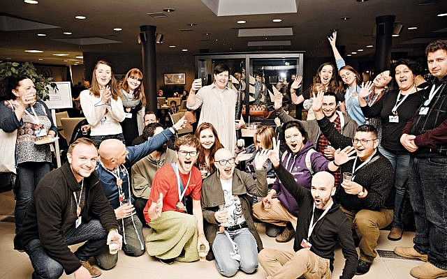 Participants at the latest Limmud FSU, which took place in Moscow. (Nikolay Yakubovskiy)