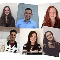 UJS' new team for 2019. Top: Shiri Wolf, Daniel Kosky and Esther Offenberg. Bottom: Bradley Langer, Lauren Lethbridge and Georgia Boroda