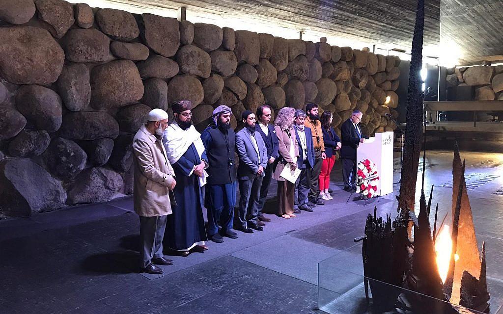 The Journey2Jerusalem delegation at Yad Vashem