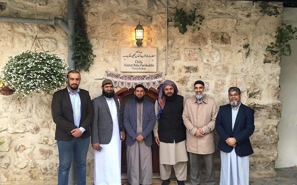 The Journey2Jerusalem delegation