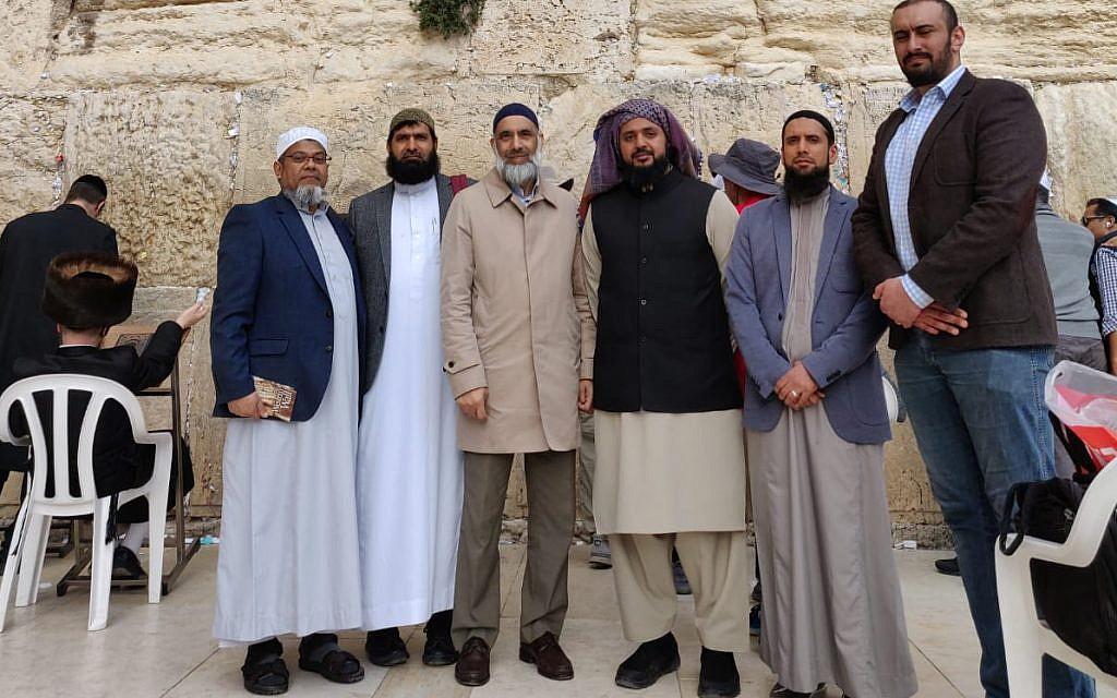 British Muslim leaders visit Yad Vashem and Kotel during landmark Israel trip