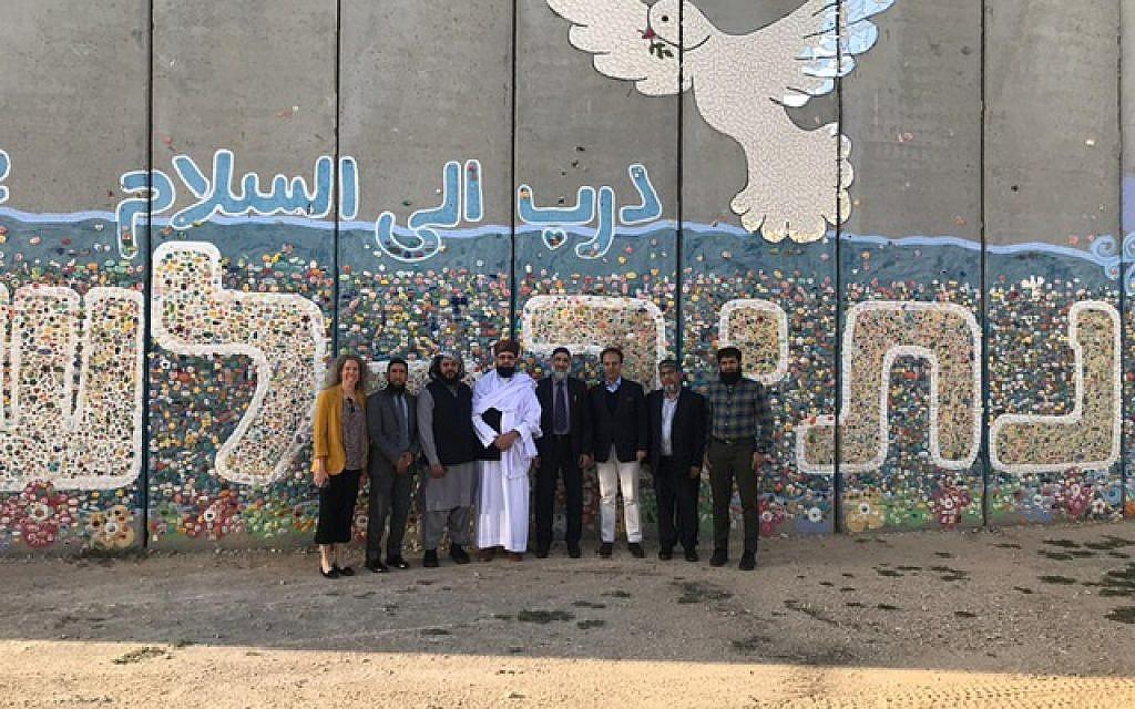 The Journey2Jerusalem delegation at the Gaza border
