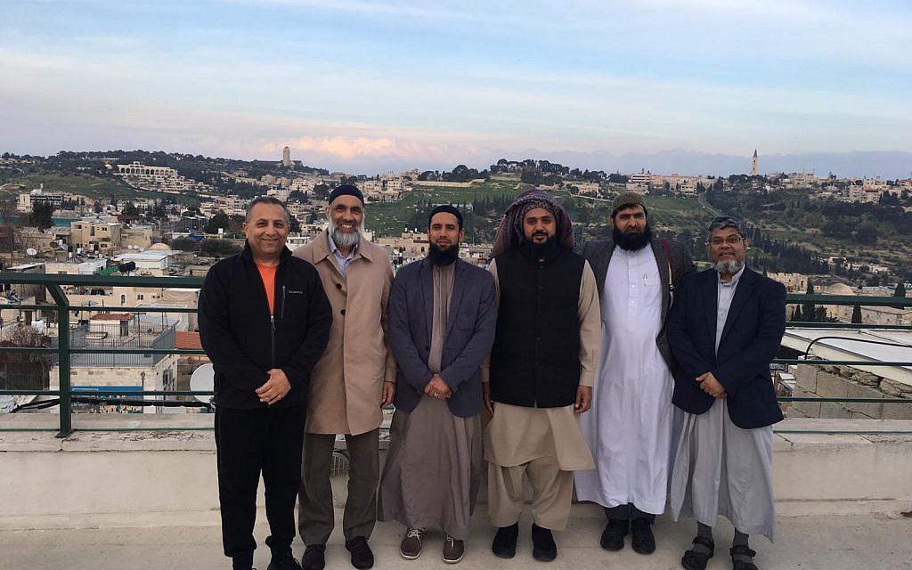 The Journey2Jerusalem delegation overlooking the city
