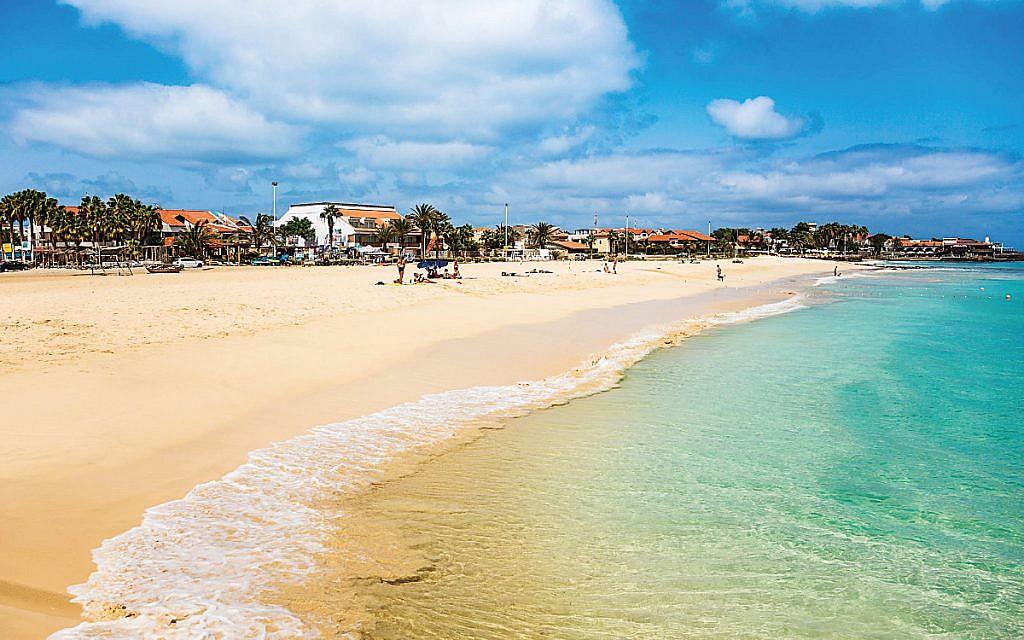 Santa Maria beach in Sal Island Cape Verde