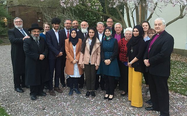Interfaith meeting of the Anglican-Jewish Commission last week.
