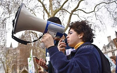 Noga Levy-Raporport helps lead a youth protest movement against climate change