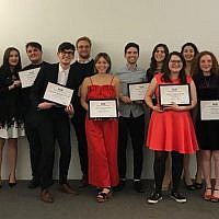 Union of Jewish Students awards winners
