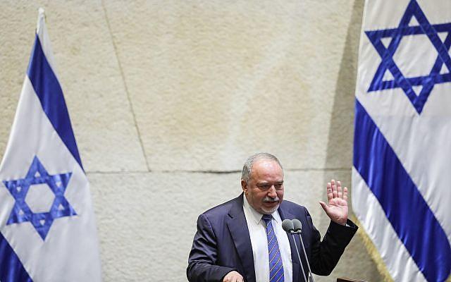 Lieberman ups rhetoric against Netanyahu after government ...