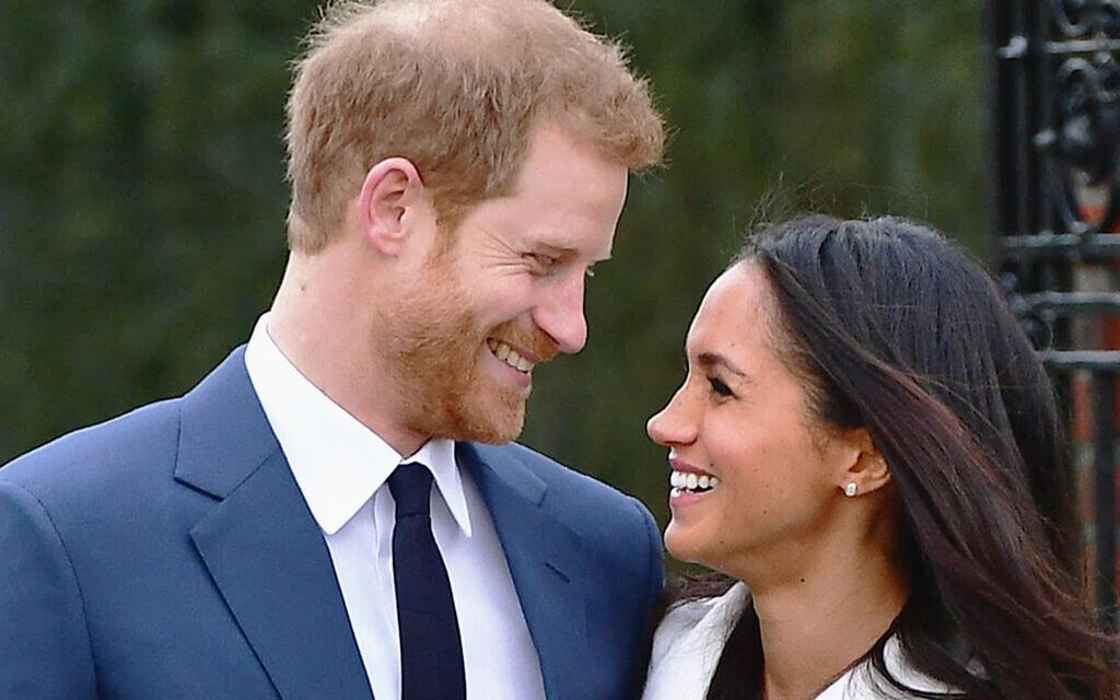 Prince Harry and Meghan Markle during the announcement of their engagement at Kensington Palace. Photo credit: Dominic Lipinski/PA Wire