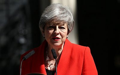 Prime Minister Theresa May announced she is standing down as Tory party leader (Yui Mok/PA Wire)