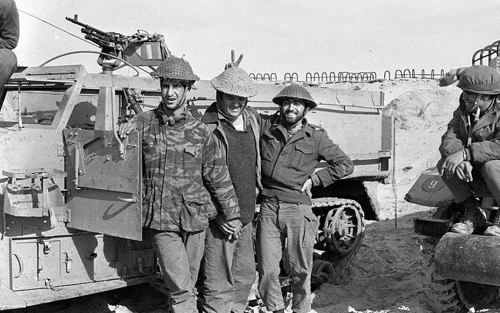 The IDF in Sinai, photo: IPPA staff, the Dan Hadani Collection/National Library of Israel  (https://www.facebook.com/pg/NationalLibraryIsrael/photos/?tab=album&album_id=2201891343190558)