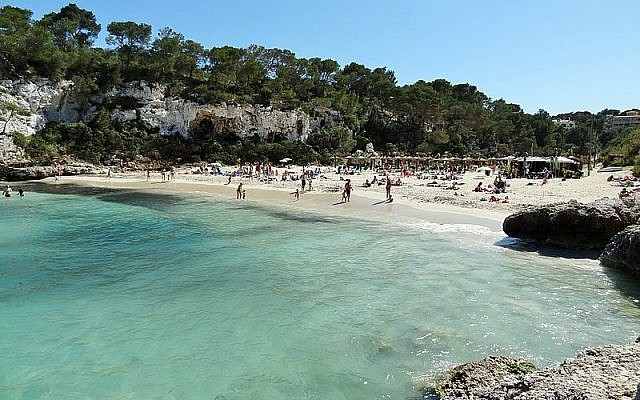 Beach in  Mallorca, Spain (Olaf Tausch/Wikipedia)