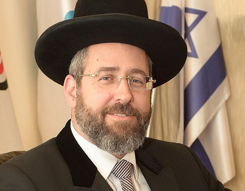 Israeli Chief Rabbi Wants Shabbat Extension To Protest