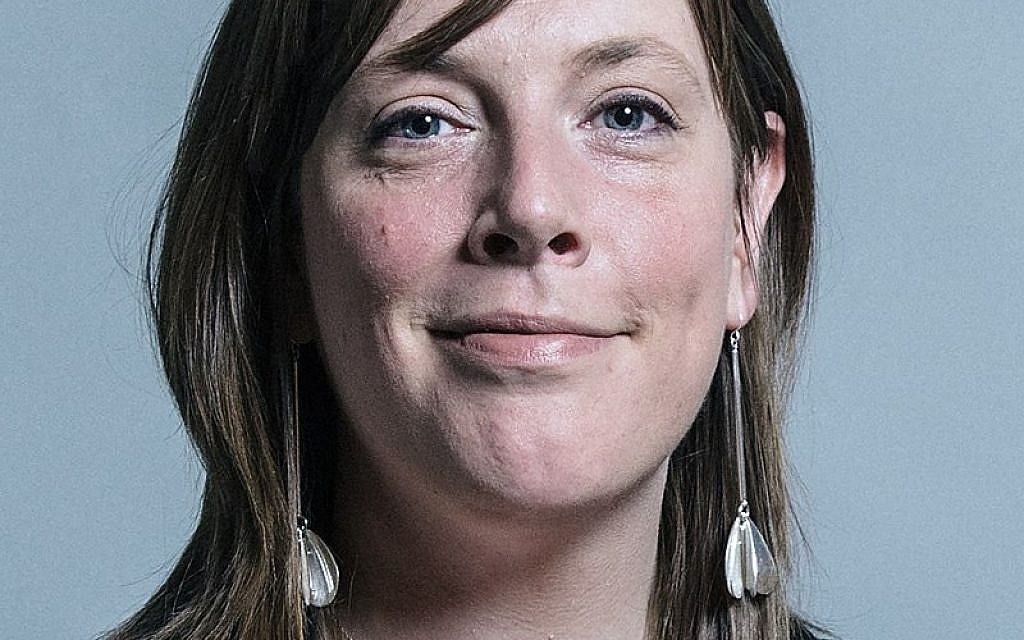 Alastair Campbell dealt with faster than Shoah denier, MP Jess Phillips says