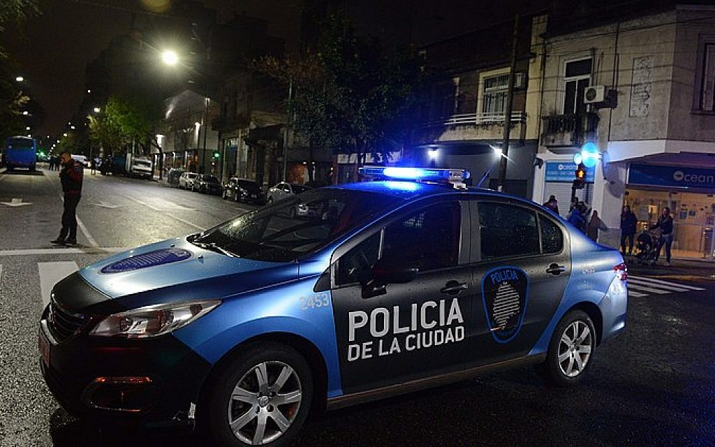 Man wearing kippah attacked on Buenos Aires street after Shabbat service