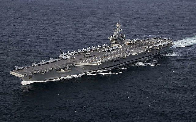USS Abraham Lincoln (CVN 72)    (wikipedia/U.S. Navy photo by Mass Communication Specialist 3rd Class Clint Davis/Released)