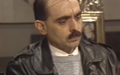 Alejandro Biondini en 1991 (Screenshot from YouTube/Televisión Pública Argentina/Wikipedia)