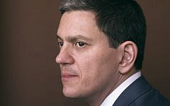 David Miliband. Credit: Jillian Edelstein