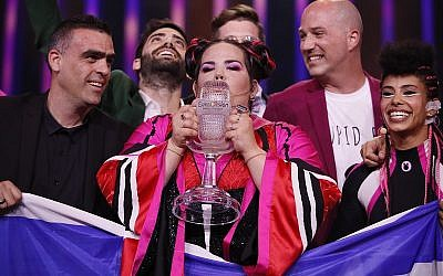 Netta Barzilai brought victory for Israel at last year's Eurovision Song Contest with her song, Toy