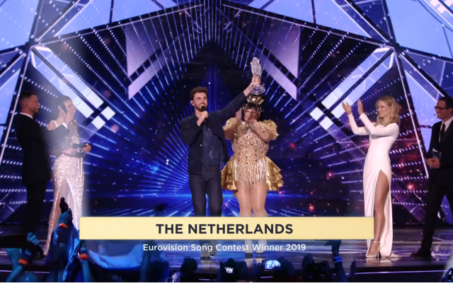Dutch winner Duncan Laurence