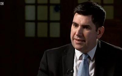 Richard Burgon on the BBC's Newsnight programme