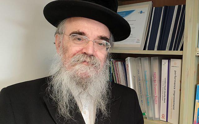 Rabbi Pinter. (Steven Derby / Interfaith Matters)