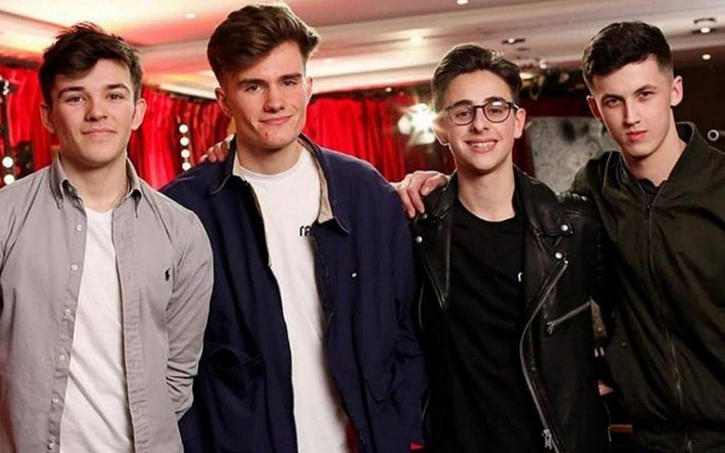 The boy band of magic, 4MG: Harry Nardi, Theo Mallalieu, Josh Hennes and James Samuel