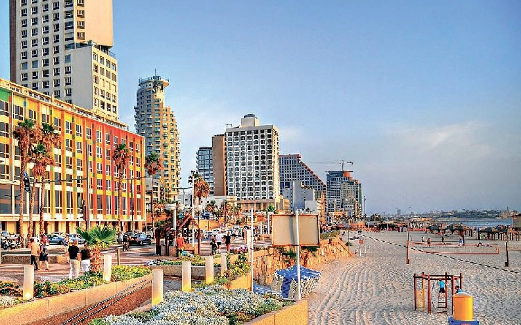 Thousands of visitors flock to Tel Aviv for its golden beaches, eclectic food and nightlife