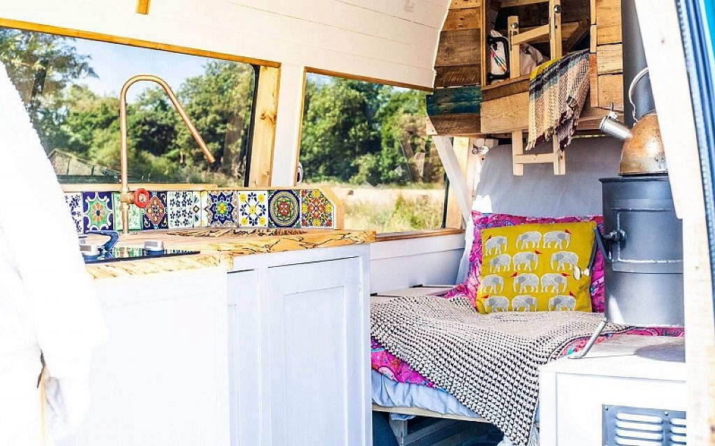 Win a weekend away in a campervan worth up to £350 with Quirky Campers!