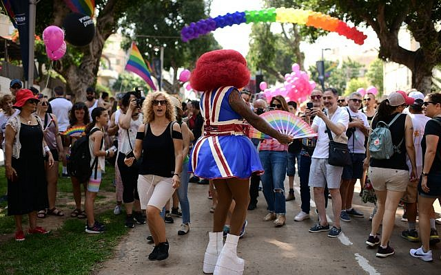 The Gay Pride parade ,Tel Aviv. June 14 2019. photo by: Tomer Neuberg-JINIPIX