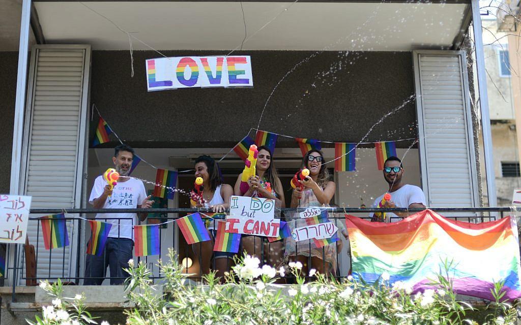 The Gay Pride parade ,Tel Aviv. June 14 2019. photo by: Tomer Neuberg-JINIPIX