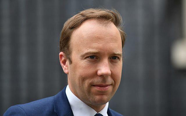 Health Secretary Matt Hancoc. Photo credit: Dominic Lipinski/PA Wire