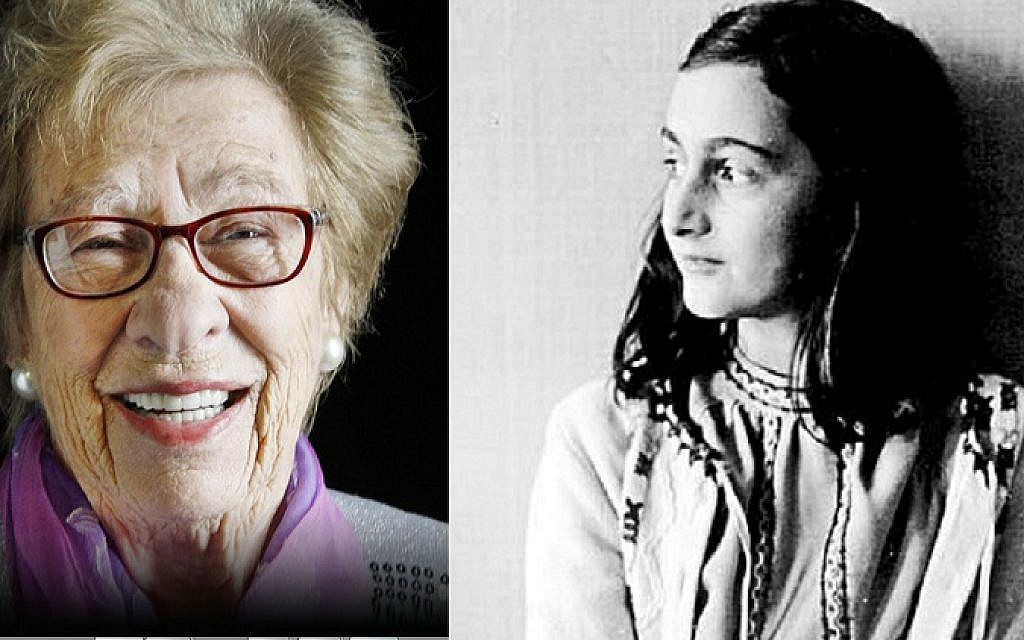Eva Schloss reflects on her posthumous step-sister Anne Frank, on what would have been the Jewish diarist's 90th birthday Credit: Anne Frank Trust UK