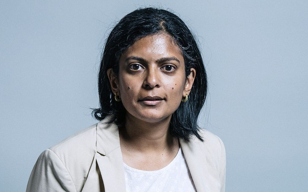 Labour MP Rupa Huq cleared over antisemitism allegations in party probe