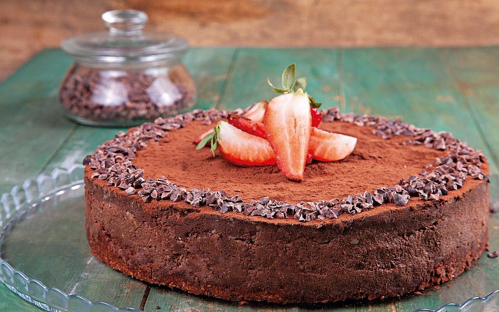 Plate expectations: Chocolate 'cheese' cake