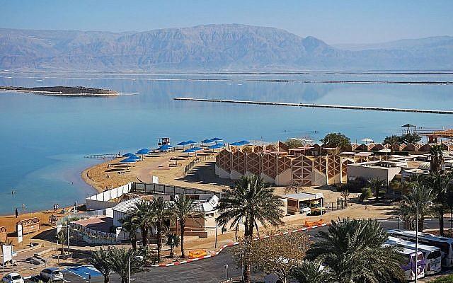Ein Bokek by the Dead Sea  (Author: Tiia Monto/Wikipedia)